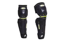 Speed Stuff FR2.0 Shin Guard black/lime green